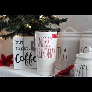 Rae Dunn Merry Christmas Travel mug